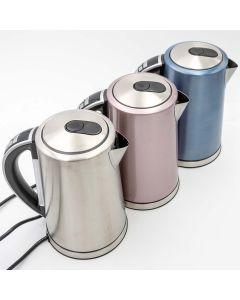 ABC lifestyle electric - Edelstahl-Wasserkocher 1,7 Liter - Warmhaltefunktion